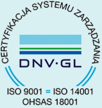 Certificate of the DNV GL ISO 9001